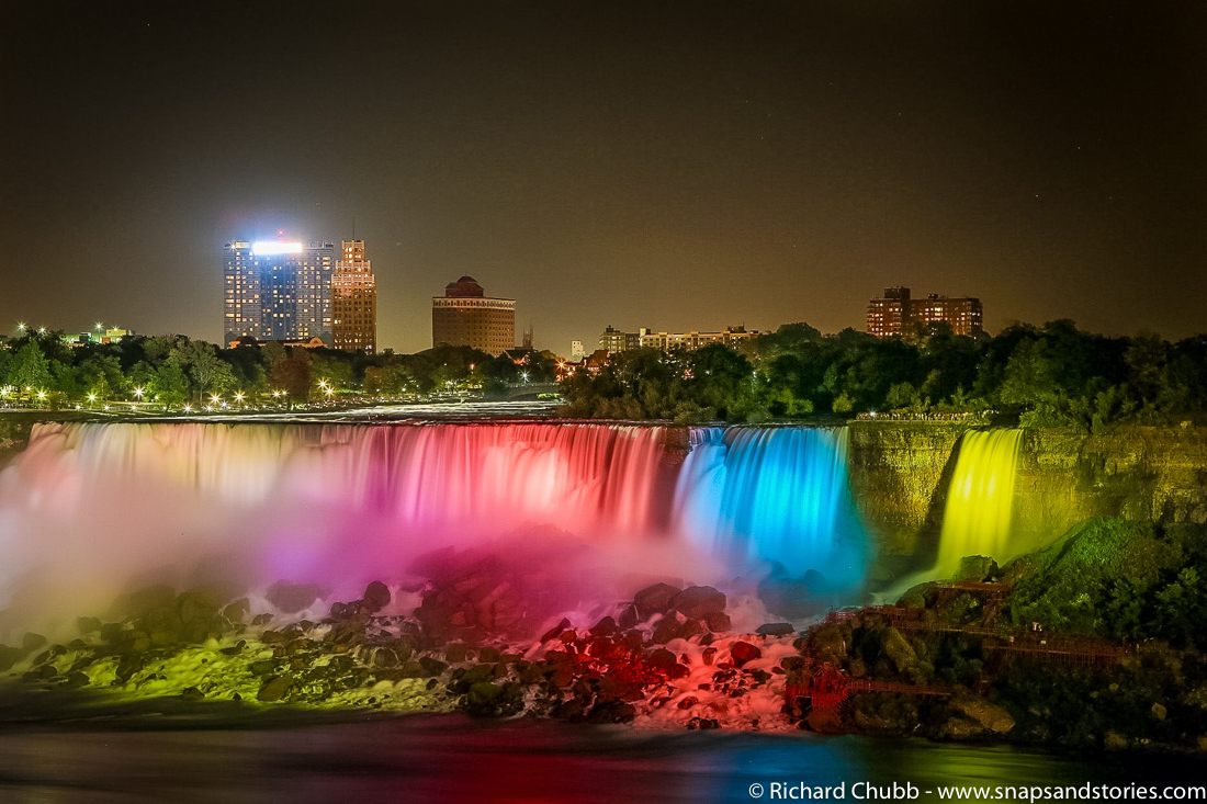 Weekly Photo Challenge - H20 Niagara Falls at Night